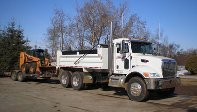 Hebear Trucking and Bobcat Vehicles